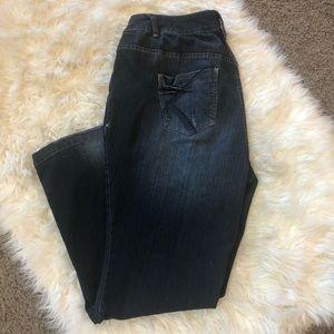 Lane Bryant lightly flared jeans